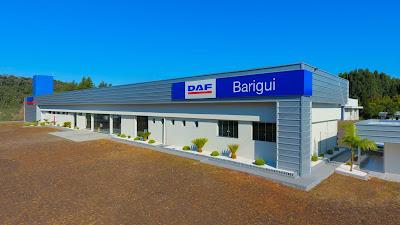 DAF Caminhões inaugura concessionária em Chapecó (SC)