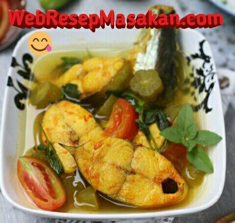 Sup ikan tenggiri asam pedas, Resep sup ikan tenggiri,