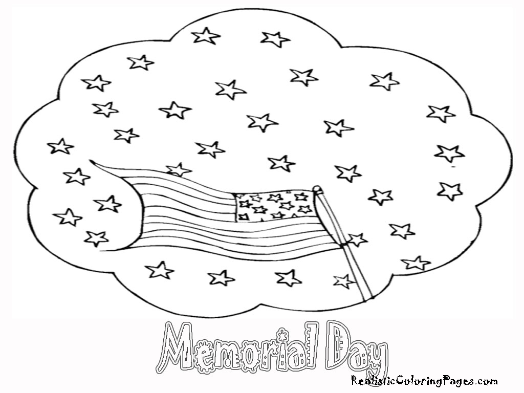 memorial day coloring pages realistic coloring pages