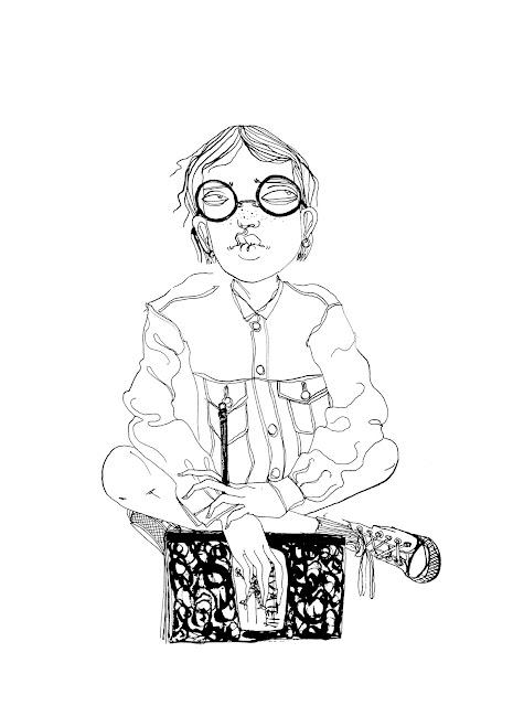 Harriet the Spy Ink Fan Art