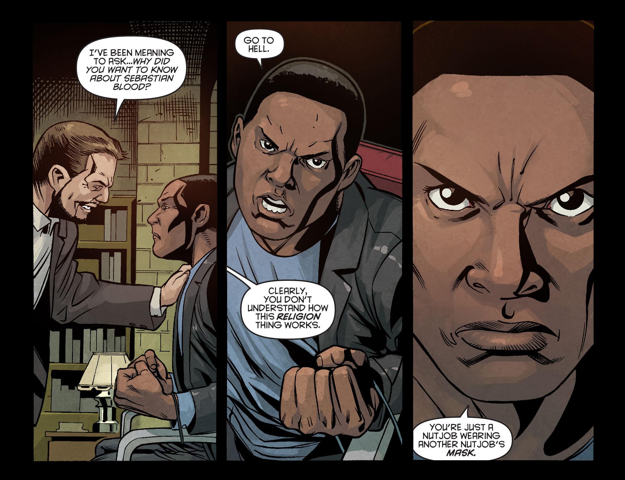 Read online Arrow: Season 2.5 [I] comic -  Issue #6 - 15