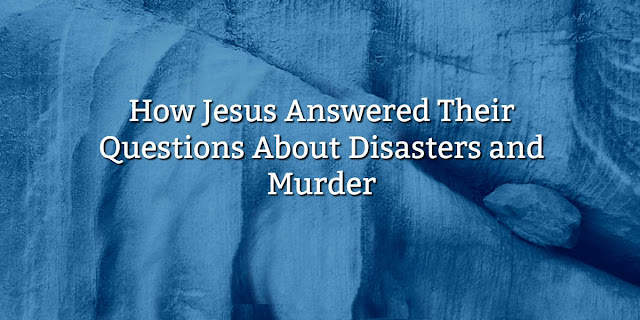 Accidents, disease, and natural disasters ... They seem so random and unnecessary. Why doesn't God stop them? This 1-Minute Devotion Addresses that question. #BibleLoveNotes