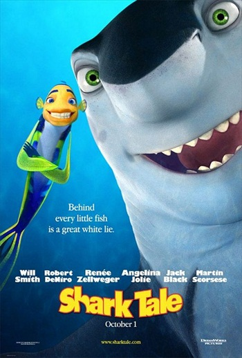 Shark Tale 2004 WEBRip 850MB Hindi Dubbed 720p