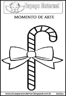 Desenho bengala de natal