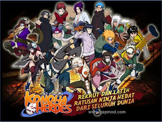 Download Konoha Heroes v2.14 Apk Android