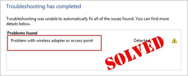 حل مشكلة عدم القدرة على الاتصال بشبكة الويفي على الويندوز 10