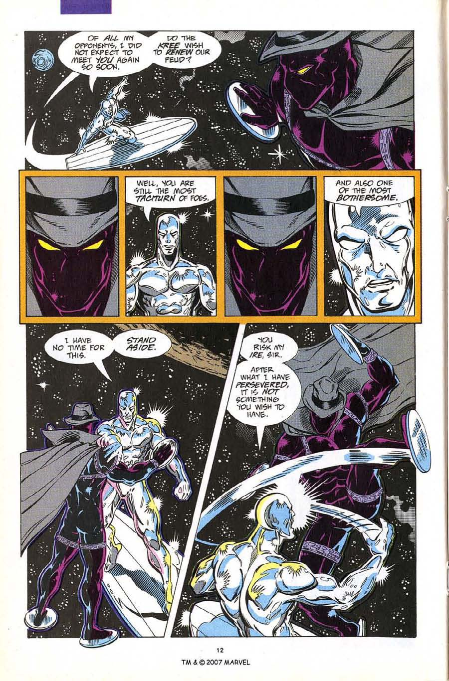 Read online Silver Surfer (1987) comic -  Issue #60 - 14