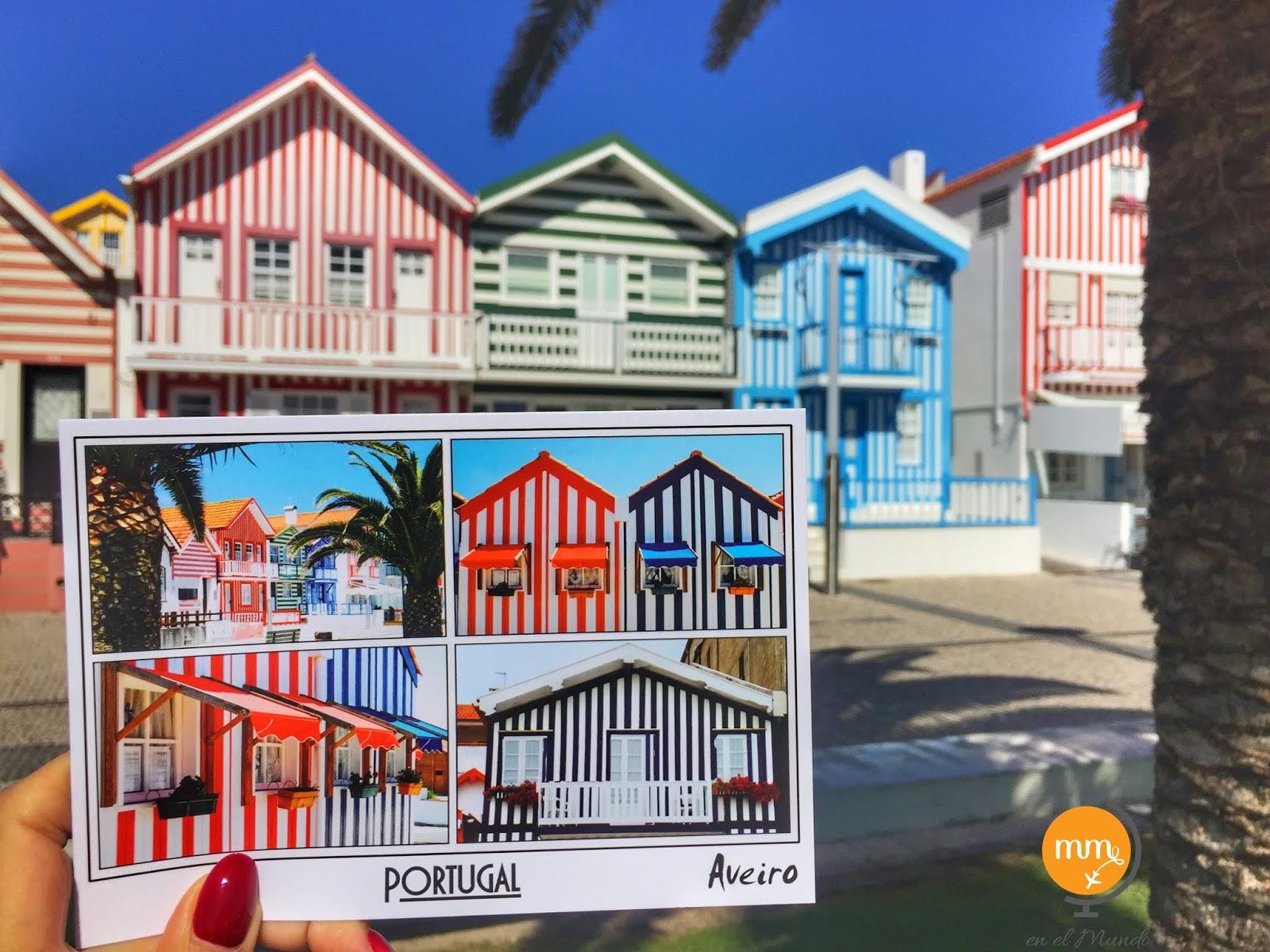 Costa Nova - pasiasta Portugalia w pobliżu Porto!