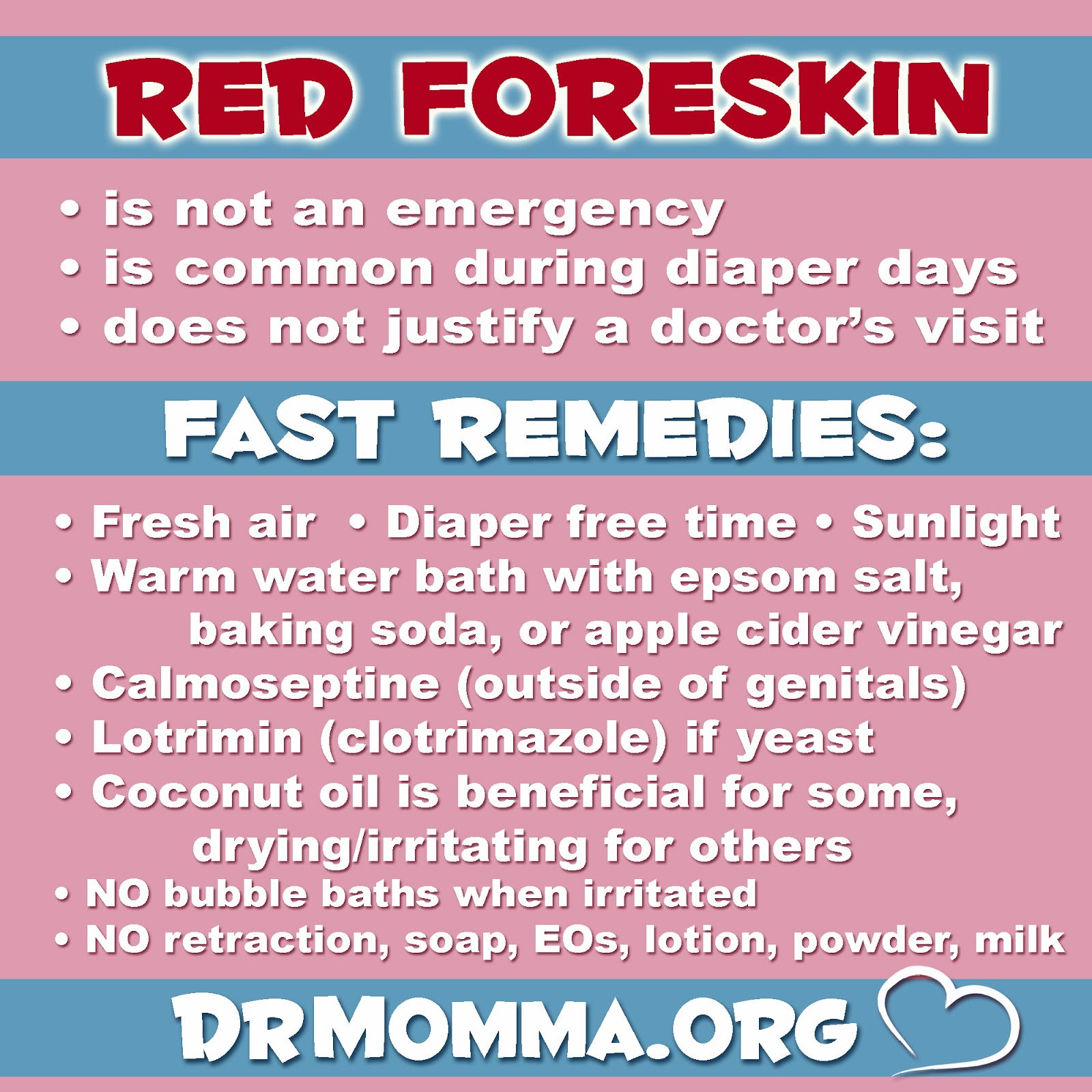 Inflammation of the foreskin in men, inflammation of the foreskin in boys