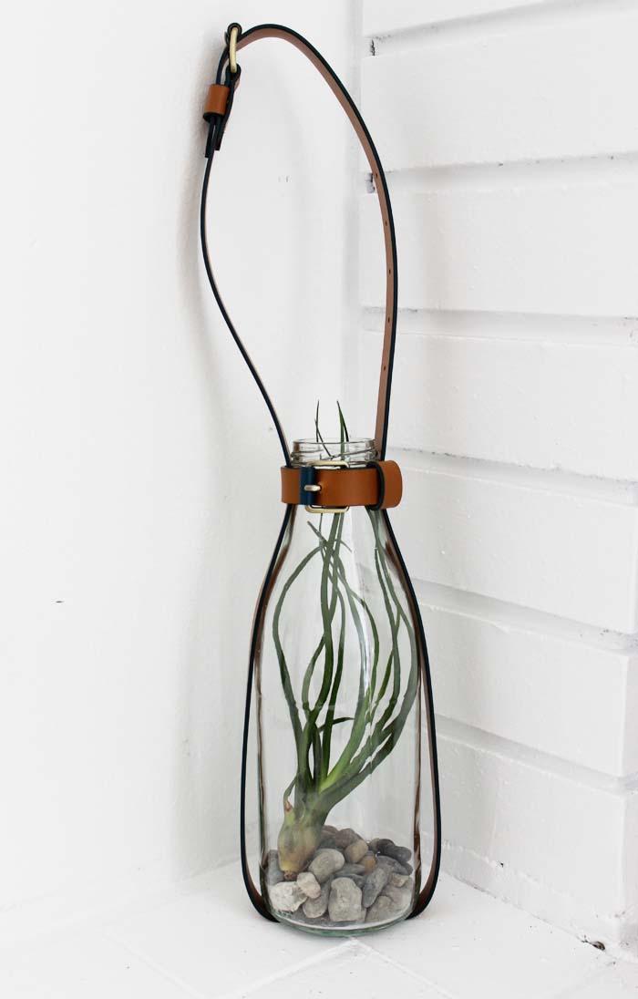 DIY: Hanging Belt Vessel