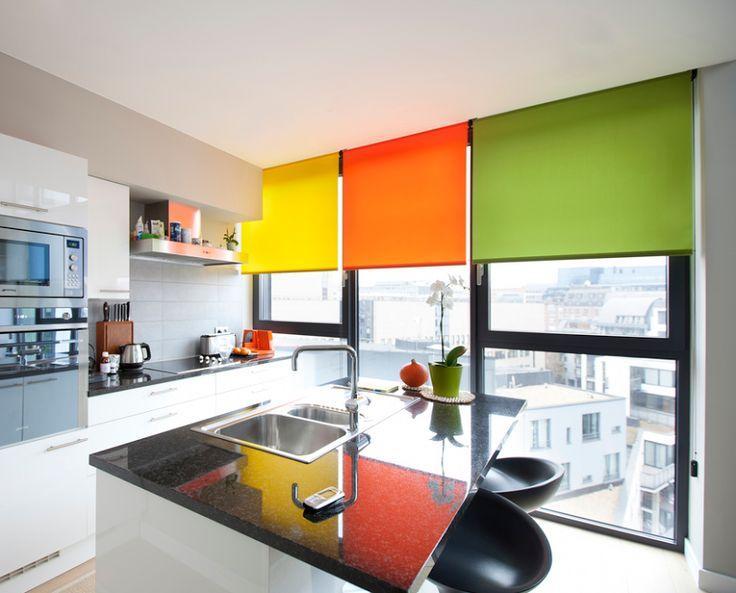 Fotos de cortinas decoraci n con cortinas fotos y videos for Persianas para cocina modernas