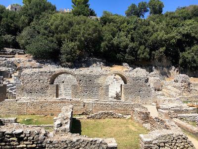 Le site de Butrint au sud de l'Albanie