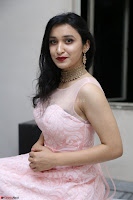 Sakshi Kakkar in beautiful light pink gown at Idem Deyyam music launch ~ Celebrities Exclusive Galleries 066.JPG