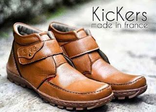 Model Sepatu Pria Terkini Merek Kickers Yang Sedang Trend Bulan Ini
