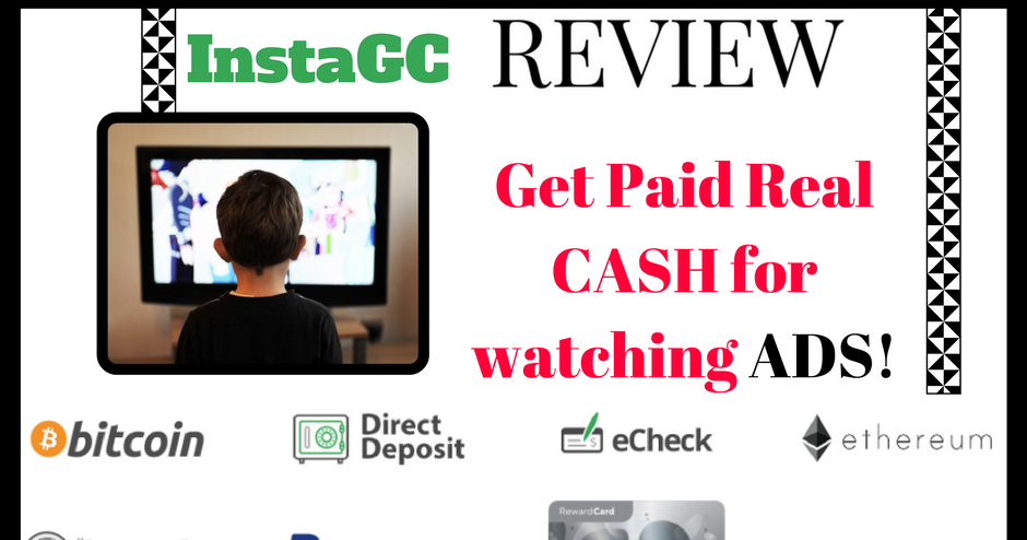 InstaGC Review - Paid to watch Ads A Scam? | Living Cheaply