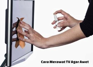 Cara Merawat TV Sharp Agar Tetap Awet
