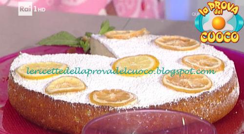 Torta Allo Yogurt E Limone Ricetta Natalia Cattelani Da Prova Del Cuoco