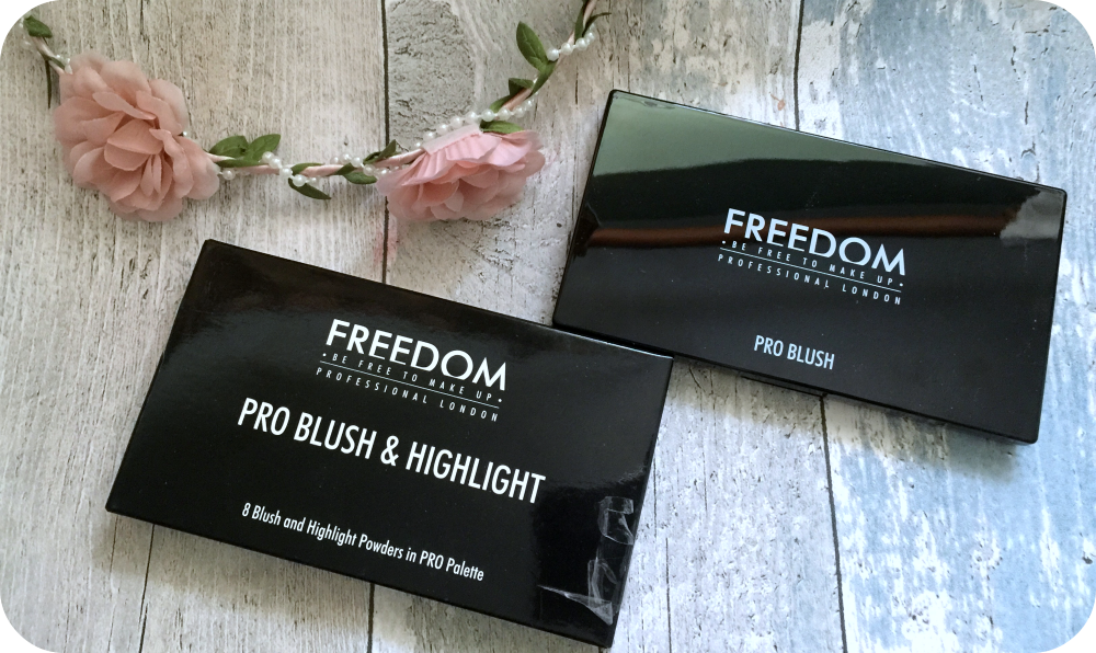 freedom pro blush and highlighter palette bronzed and baked