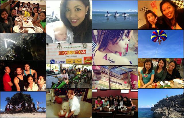 Birthday Gratitude List collage