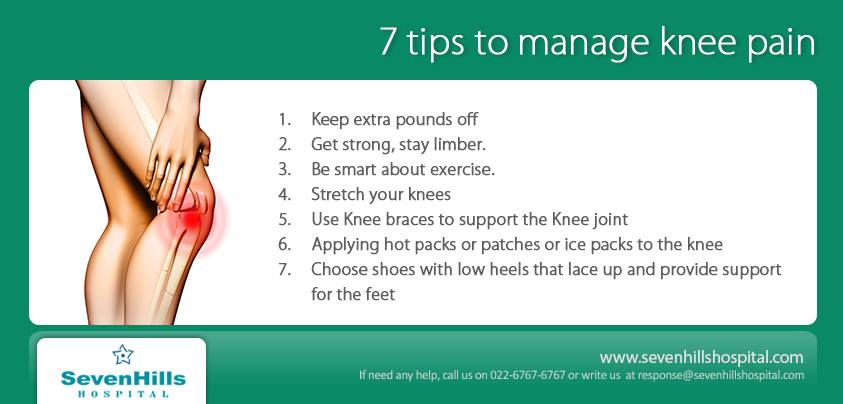 knee pain causes and treatments