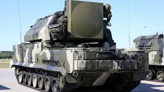 Rudal TOR-M1 Rusia