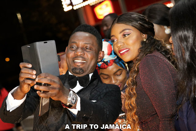 ay trip to jamaica premiere in london
