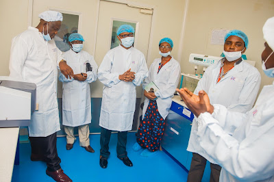 Management of Sun Newspaper visited? Phamatex state-of-the-art facilities in Lagos & its general strides in recent times(Photos)