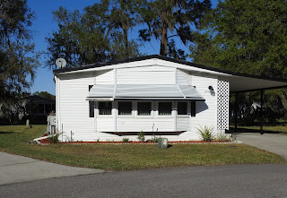 A manufactured home in Cypress Lakes in Florida.