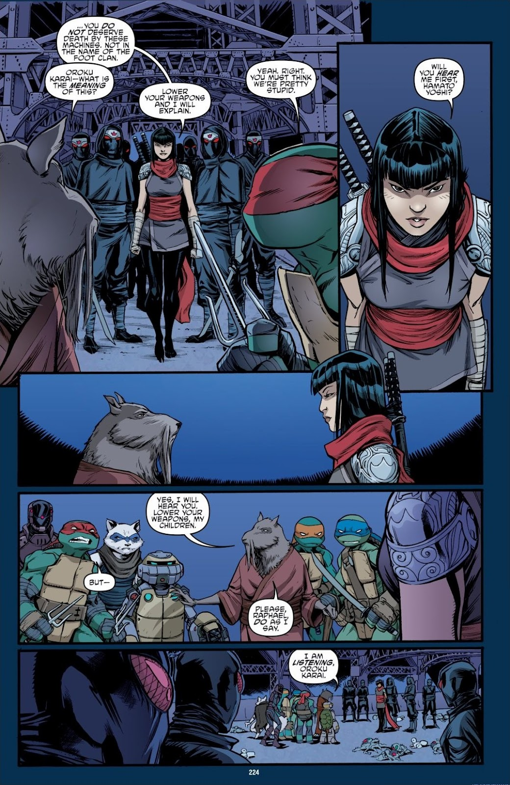 Read online Teenage Mutant Ninja Turtles: The IDW Collection comic -  Issue # TPB 6 (Part 3) - 19