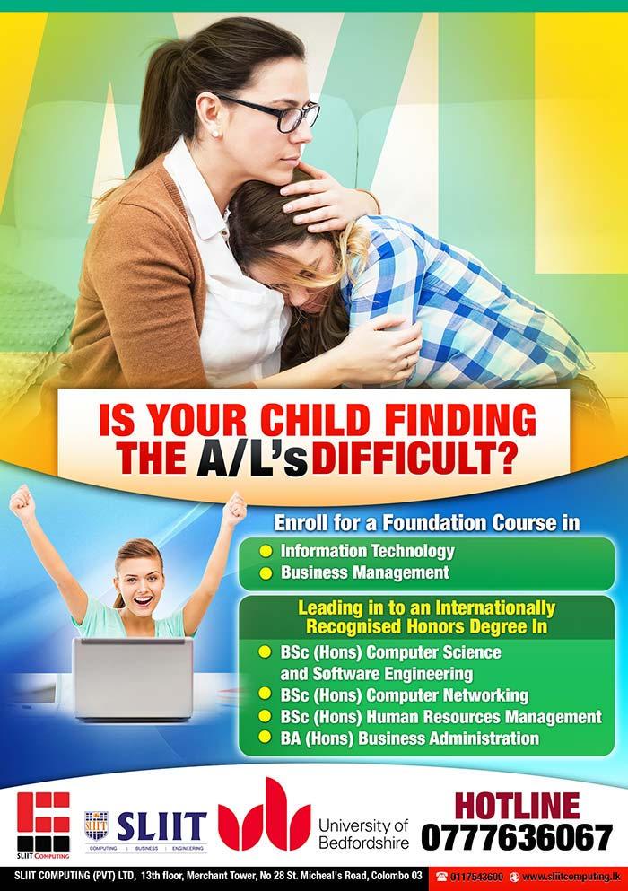 Is your child finding the A/L's difficult.