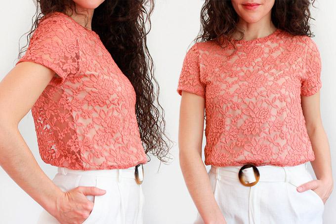 coser-camiseta-encaje-facil.costura-para-pricipiantes