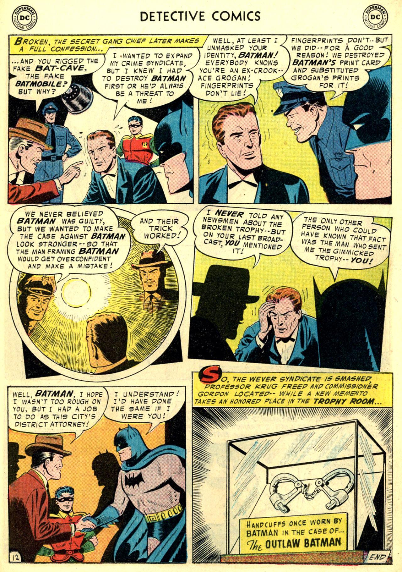 Read online Detective Comics (1937) comic -  Issue #240 - 14