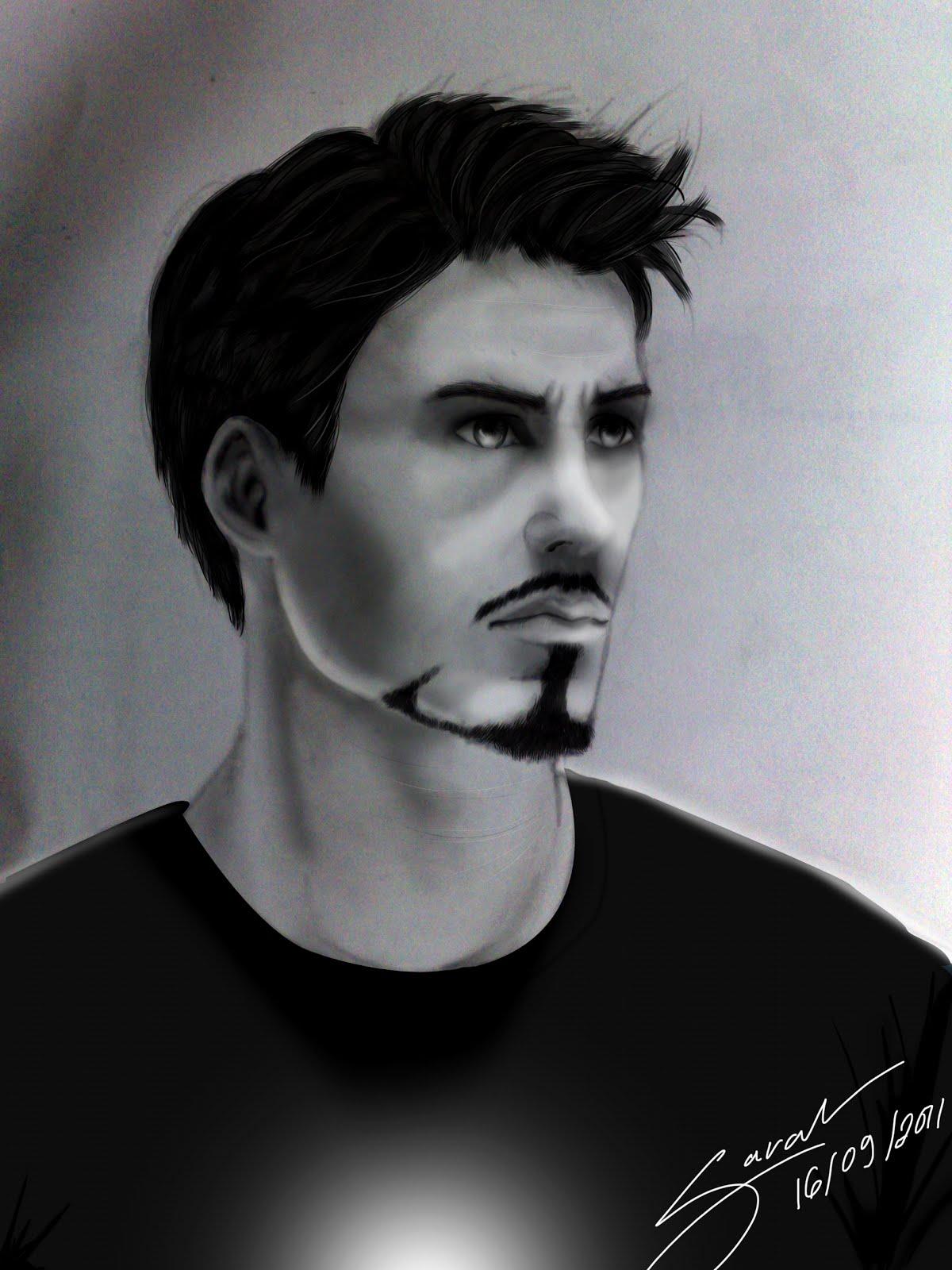 The Graphic Illusion Tony Stark Desenho 2011