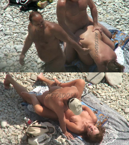 BeachHunters Sex 17865-18010 (Voyeur amateur sex on a nudist beach)