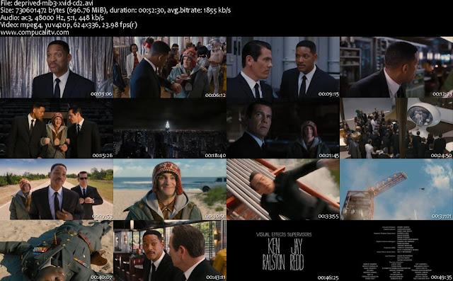 Hombres de Negro 3 DVDRip Subtitulos Español Latino 2012