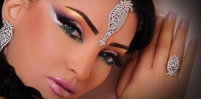 Arabic Bridal Makeup Hairstyles Tutorial Step By