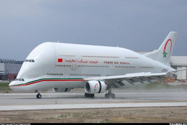 تهديد كاذب لطائرة الخطوط الملكية يجر مراقبا بمطار موي علي اليف لعتقال
