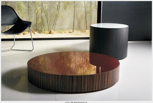 Fantastic round modern coffee tables Image