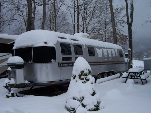 8 Tips for Spending Winter in an Airstream