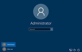 account amministratore