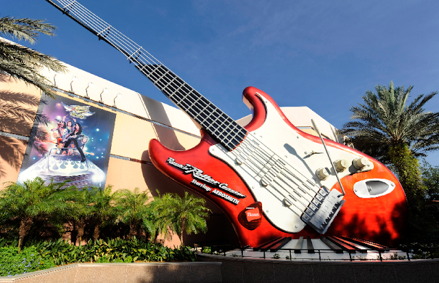 Montanha-russa do Aerosmith no Disney Hollywood Studios em Orlando