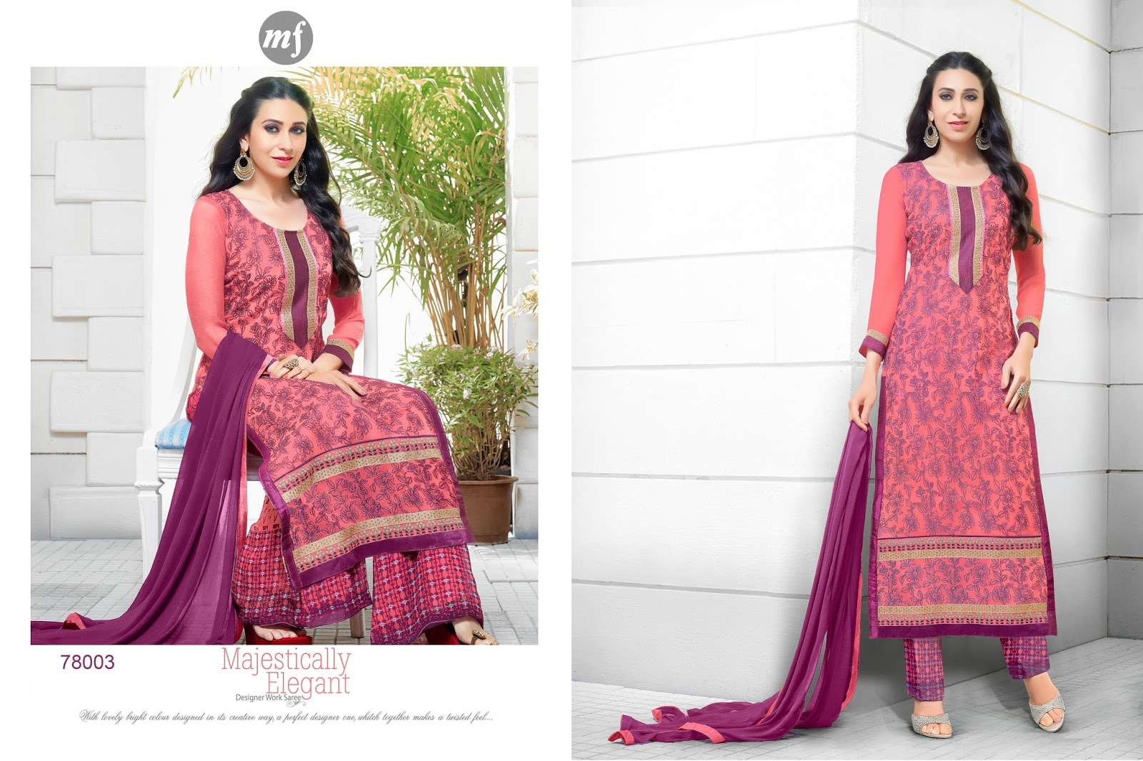 Eqataar – Marvellous Digital Printed Collection Dress Material