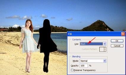 Membuat Efek Bayangan Dengan Photoshop