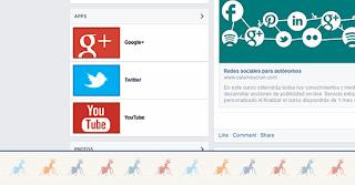 Ejercicio 9. Aplicaciones para páginas de facebook