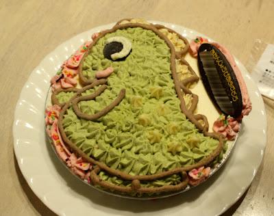 恐竜アイスケーキ