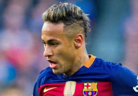 Model Rambut Pirang Mohawk Ala Neymar