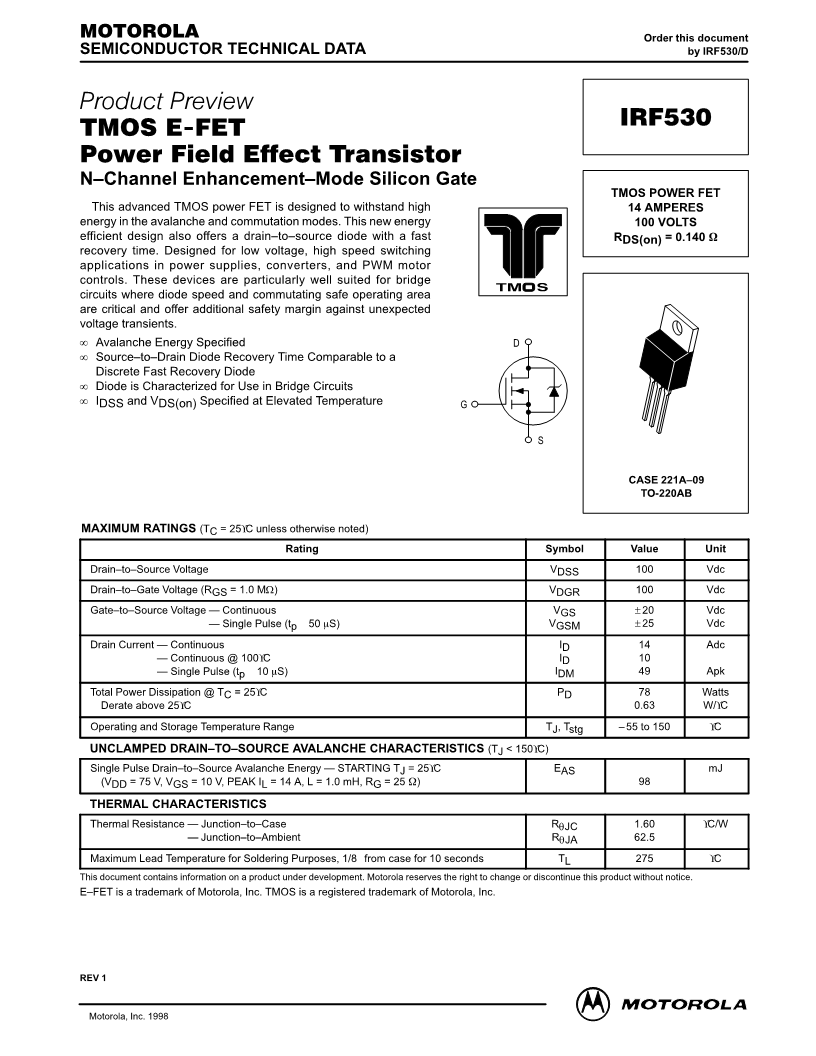Mosfet Transistor Buz11a N Channel Datasheet 28 Images Irfz44 Download
