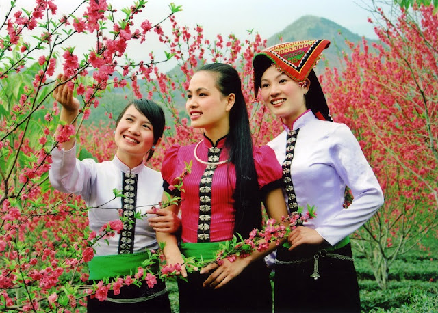 Tet Holiday of Thai people in Mai Chau Valley 1
