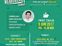 Ngabuburit IT Digital Marketing di Semarang, Berlangsung 9 Juni 2017