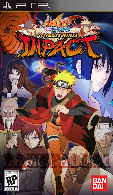 naruto shippuden ultimate ninja impact psp download ita cso